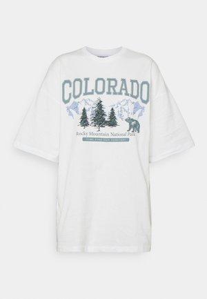Camiseta estampada - off white