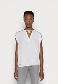 s.Oliver - Print T-shirt - offwhite - 0
