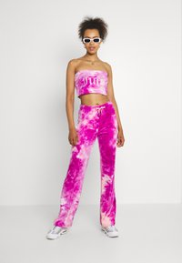 Juicy Couture - BABE TIE DYE BOOBTUBE - Top - rosebud/almond blossom - 1