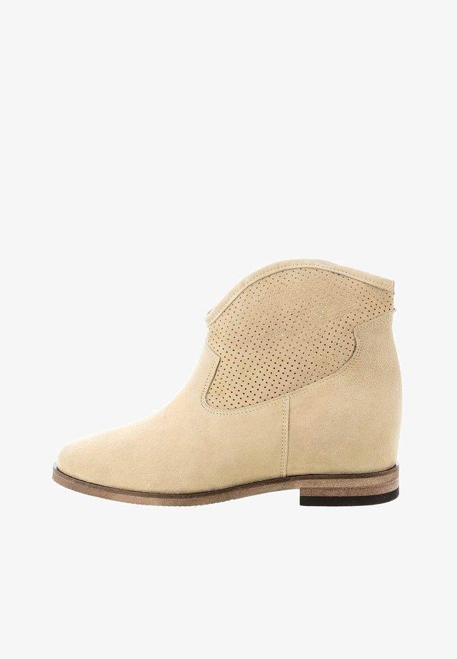 GATTORNA - Kotníková obuv - beige