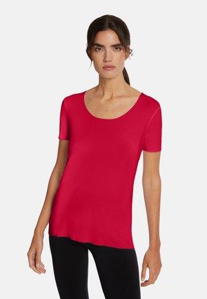 Basic T-shirt - rubino