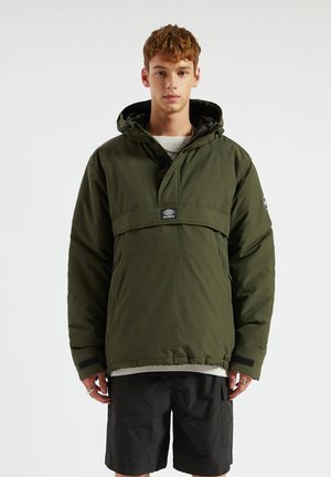 Windbreaker - mottled green