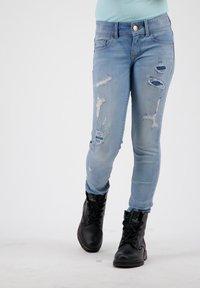 RAIZZED - Jeans Skinny Fit - mid blue stone - 1