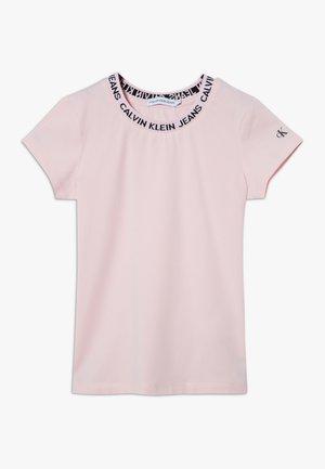 LOGO  - T-shirt imprimé - pink