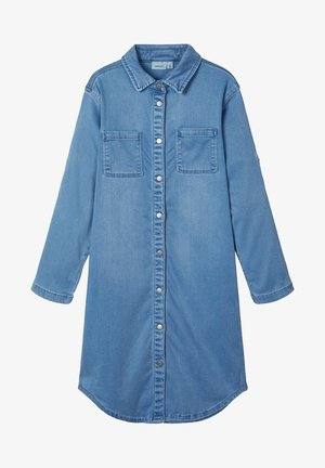 Blousejurk - light blue denim