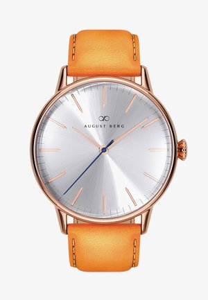 UHR SERENITY SIMPLY LEATHER 40MM - Watch - sunray silver