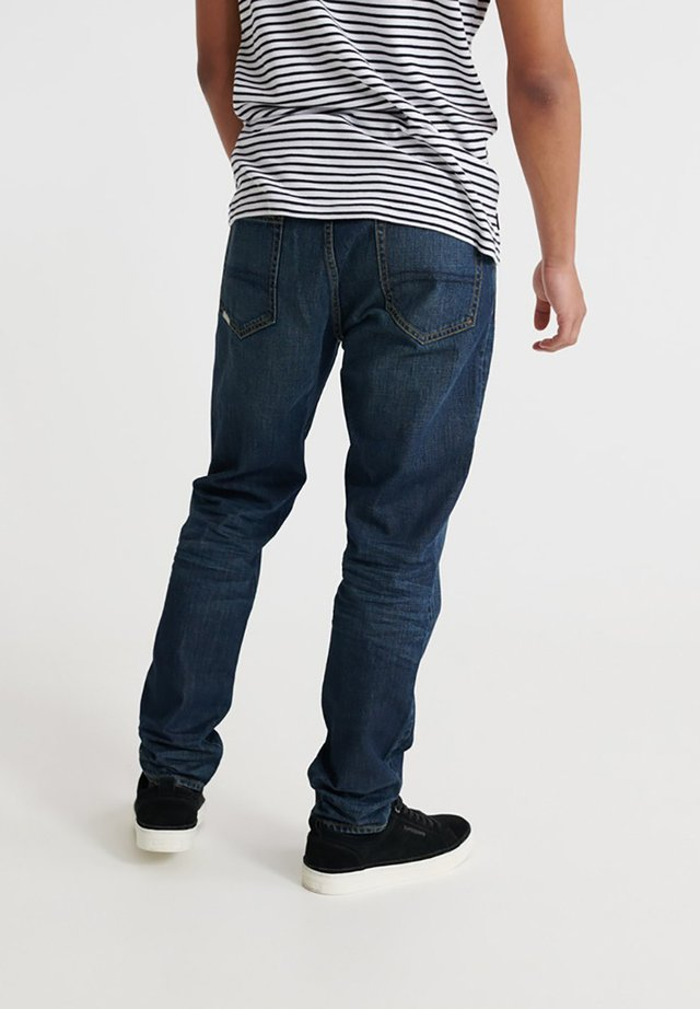 CONOR - Straight leg jeans - byrom dark blue