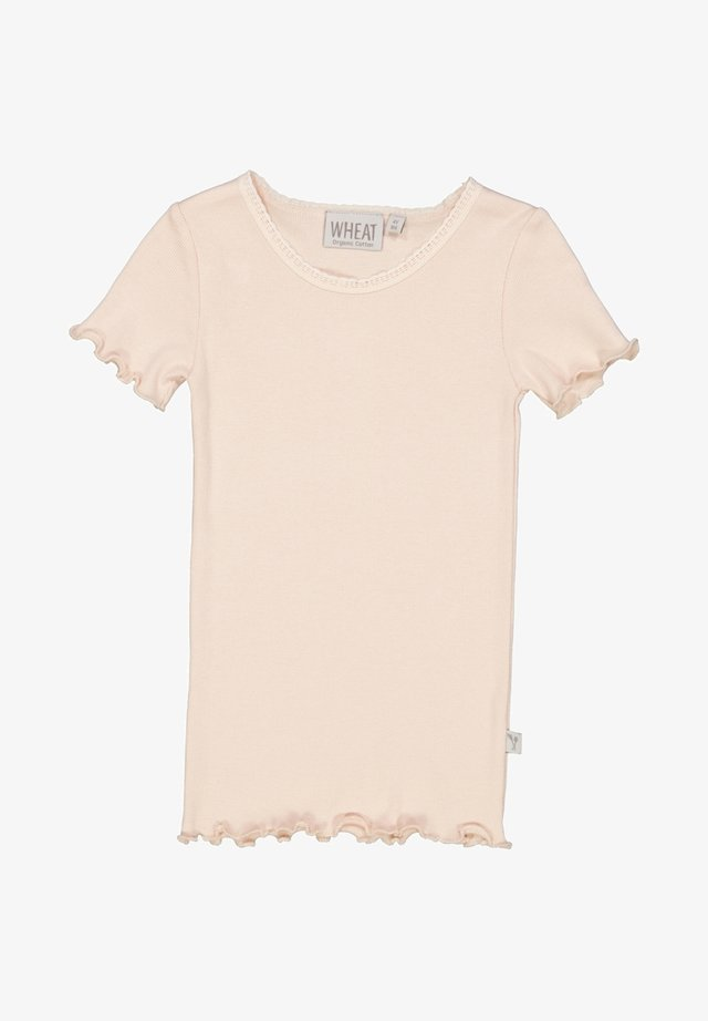 T-shirt basic - powder