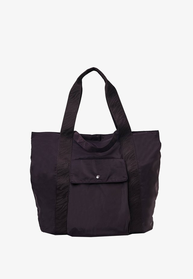 Shopping Bag - dark purple