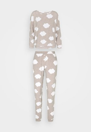 TANYA  SET  - Pyjama set - brown