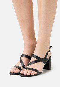 Lauren Ralph Lauren - MACKENSIE - Sandals - black - 0