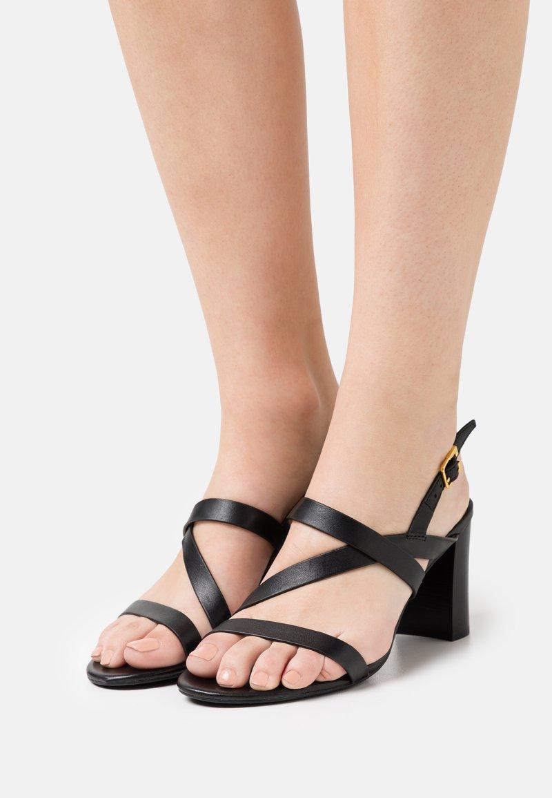 Lauren Ralph Lauren - MACKENSIE - Sandals - black