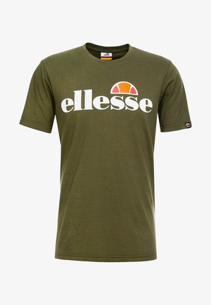 T-shirt imprimé - khaki