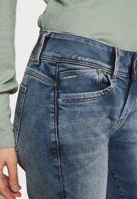 G-Star - LYNN MID SKINNY RP ANKLE WMN - Jeans Skinny Fit - antic faded kyanite - 3