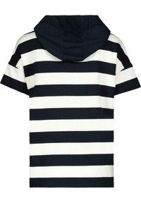 Monari - MIT KAPUZE - Print T-shirt - night blue - 1