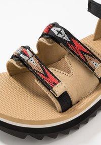 Teva - MIDFORM CERES WOMENS - Walking sandals - double diamond/firey red - 5
