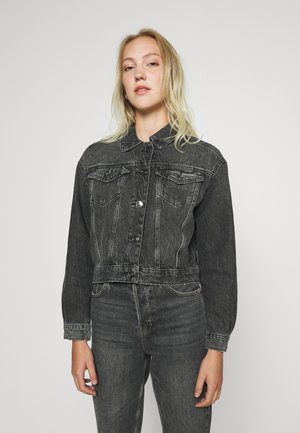 ONLMALIBU LIFE JACKET - Denim jacket - grey denim