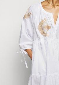 Steffen Schraut - IPANEMA SUMMER TUNIC DRESS - Day dress - white - 5