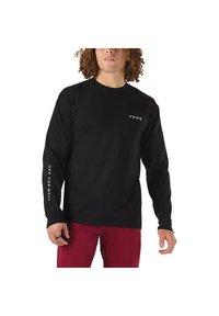Vans - MN SNAPSHOTS LS - Sweatshirt - black - 0