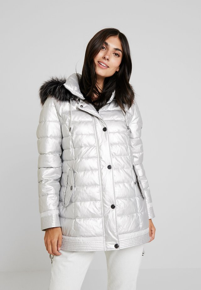 Winter coat - silver