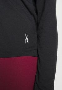 Reebok - SUPREMIUM LONG SLEEVE - Camiseta de deporte - night black - 3