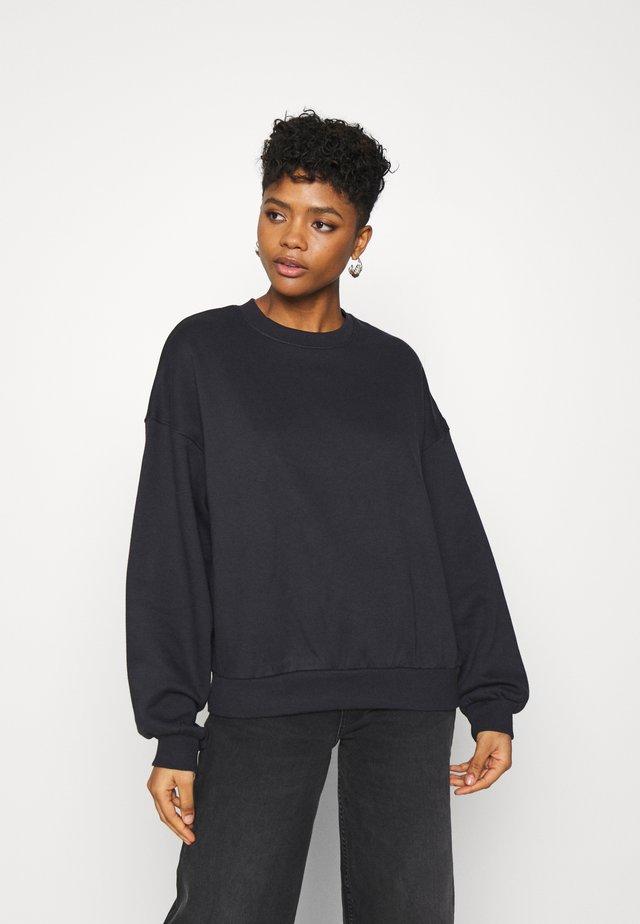 PAMELA OVERSIZED - Sweatshirt - off black
