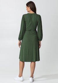 Indiska - SENJA LS - Jersey dress - green - 2