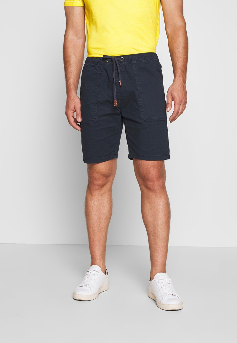 INDICODE JEANS - THISTED - Shorts - navy