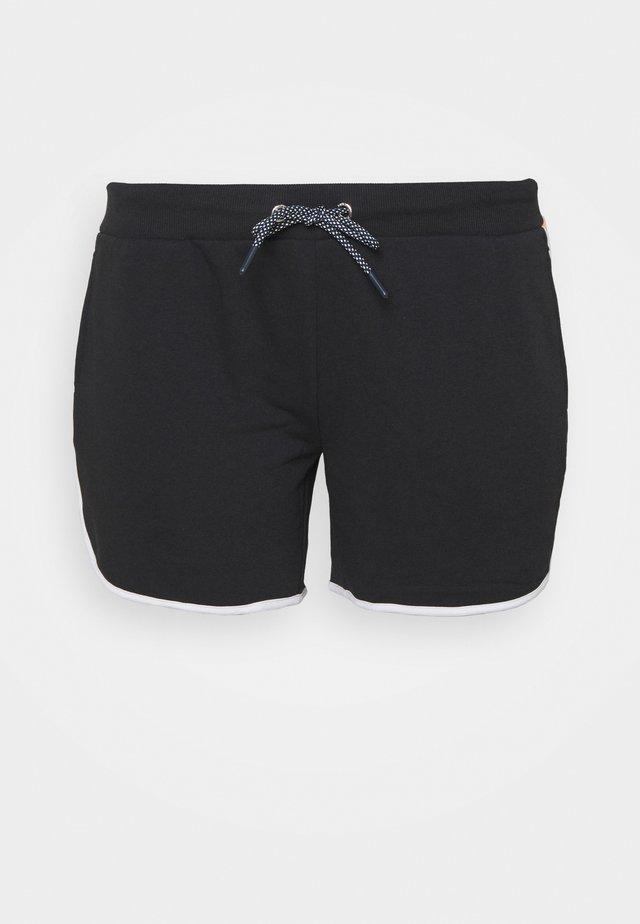 ONPMANOLA SHORTS CURVY - Pantaloncini sportivi - blue graphite/white