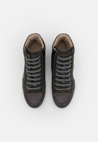 Candice Cooper - PLUS - Höga sneakers - tamponato antracite/montone - 4