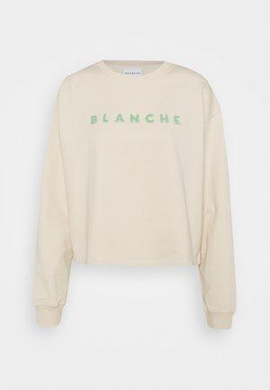 HELLA - Sweatshirt - sand beige