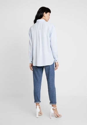 UTILITY - Button-down blouse - blue