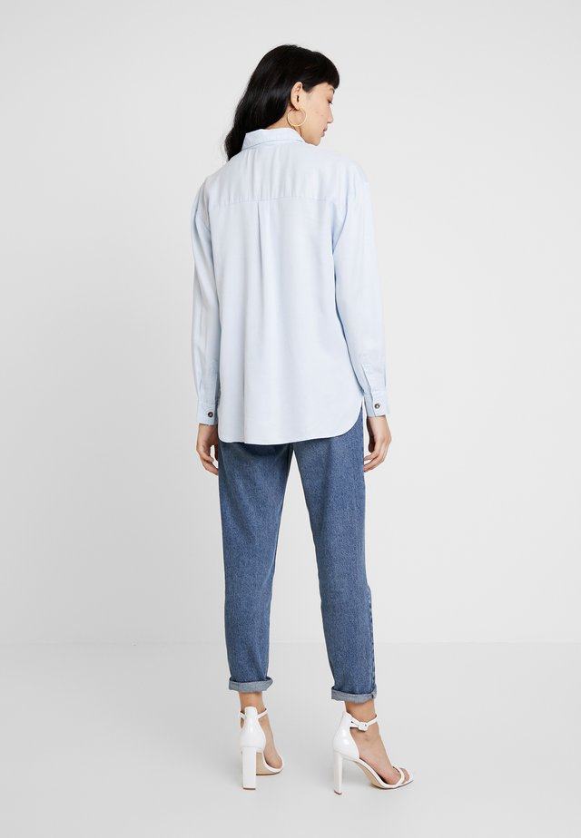 UTILITY - Button-down blouse - blue