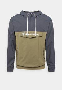 Champion - COLOR BLOCK - Träningsjacka - grey/khaki - 0