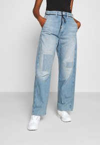 G-Star - LINTELL HIGH DAD  - Jeans Relaxed Fit - vintage marine blue restored - 0