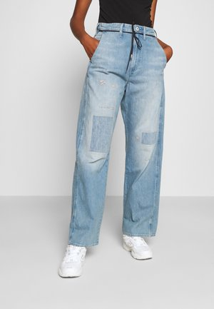 LINTELL HIGH DAD  - Jeans baggy - vintage marine blue restored