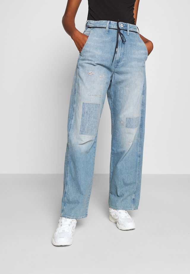LINTELL HIGH DAD  - Jeans relaxed fit - vintage marine blue restored