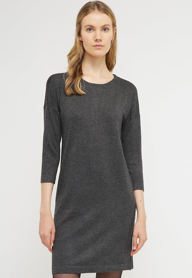 VMGLORY VIPE AURA DRESS - Jumper dress - dark grey melange