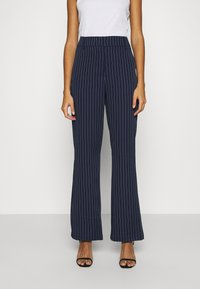 4th & Reckless - SHANGHAI TROUSER - Trousers - navy - 0