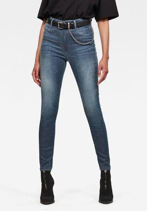 KAFEY ULTRA HIGH SKINNY  - Skinny-Farkut - worn in gravel blue