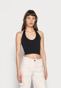 BDG Urban Outfitters - JACKIE HALTER - Top - black - 0