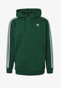 adidas Originals - STRIPES HOODIE - Hoodie - green - 8