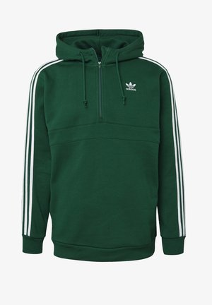 STRIPES HOODIE - Sweat à capuche - green