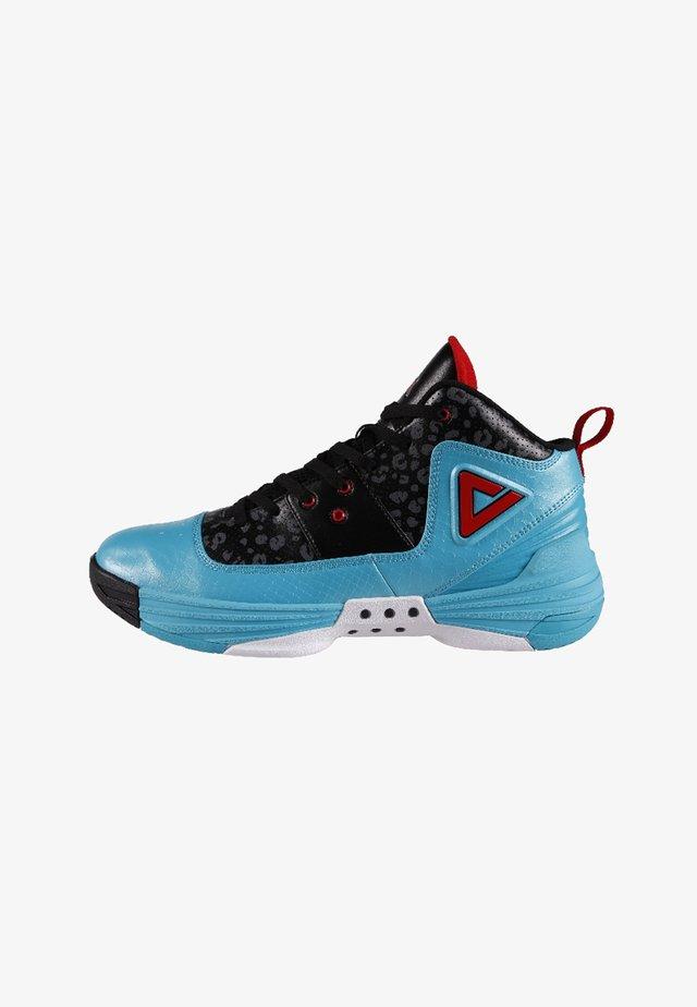 Basketball shoes - blue/black
