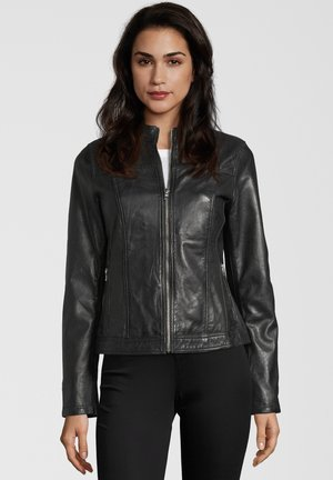 KRISS - Leather jacket - black