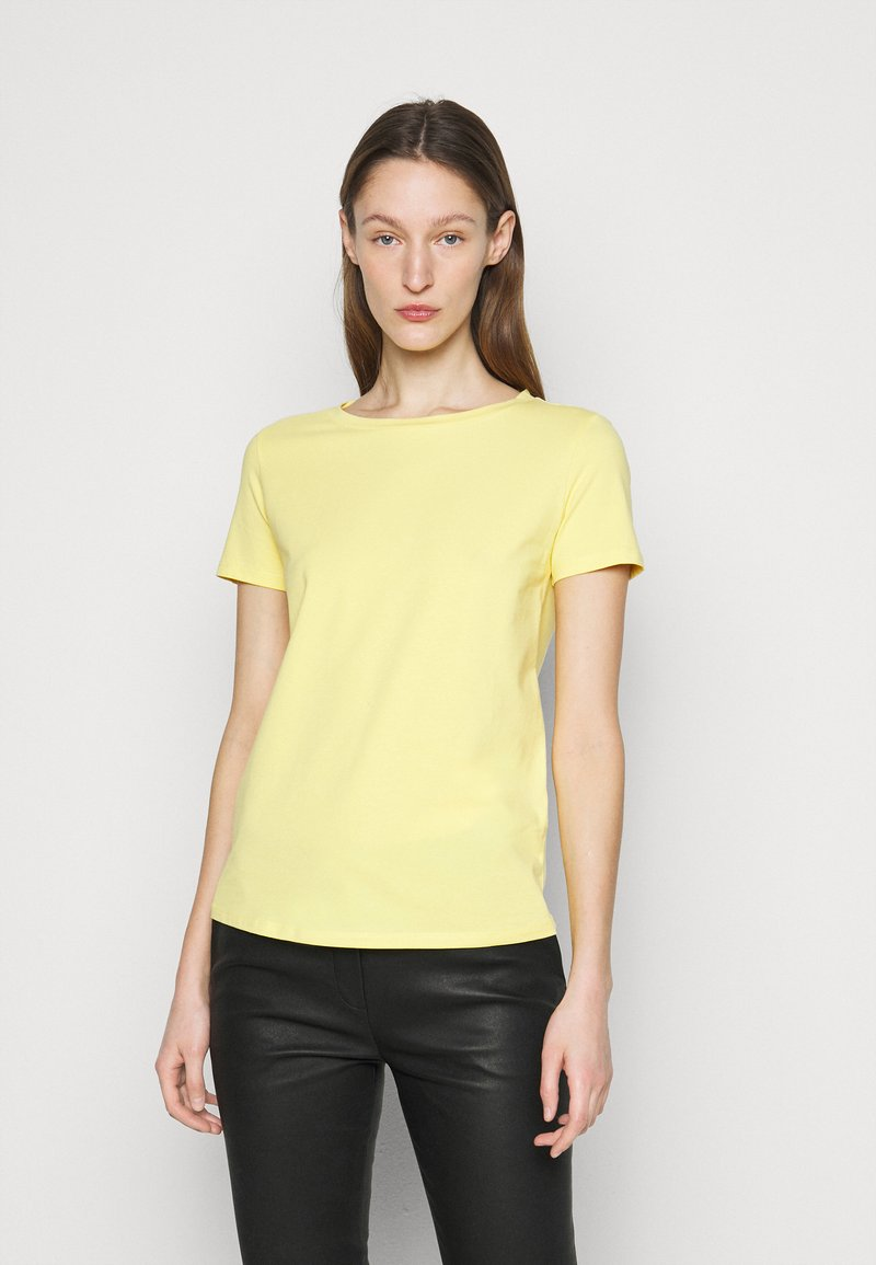 WEEKEND MaxMara - Basic T-shirt - zartgelb
