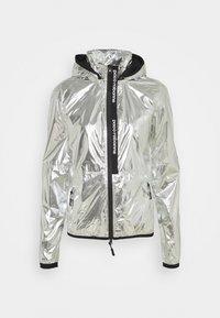 Training jacket - silver