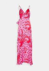 Farm Rio - OCTOCOOL WRAP DRESS - Day dress - red - 1