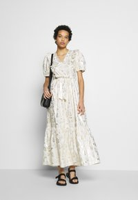 Résumé - TENDORA DRESS - Maxi dress - white - 1
