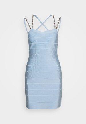 CRYSTAL DRESS - Vestido de cóctel - sky blue
